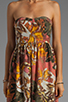 Image 5 of BB Dakota Stillman Orchid Printed Dress in Travertine