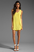 Image 2 of BB Dakota Wilt Hi-Low Dress in Cabana Yellow