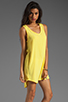 Image 3 of BB Dakota Wilt Hi-Low Dress in Cabana Yellow