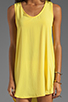 Image 5 of BB Dakota Wilt Hi-Low Dress in Cabana Yellow