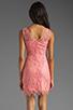 Image 4 of BB Dakota Allium Lace Dress in Pink Lemonade