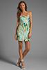Image 2 of BB Dakota Debralyn Palm Beach Printed Dress in Mint Julep