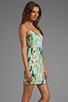 Image 3 of BB Dakota Debralyn Palm Beach Printed Dress in Mint Julep