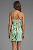 Image 4 of BB Dakota Debralyn Palm Beach Printed Dress in Mint Julep