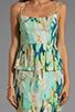Image 5 of BB Dakota Debralyn Palm Beach Printed Dress in Mint Julep