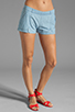 Image 1 of Jack by BB Dakota Anna Cotton Chambray Shorts in Light Blue