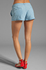 Image 3 of Jack by BB Dakota Anna Cotton Chambray Shorts in Light Blue