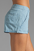 Image 5 of Jack by BB Dakota Anna Cotton Chambray Shorts in Light Blue