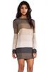 Image 3 of BB Dakota Marilou Pullover Sweater in Dark Khaki