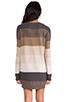Image 4 of BB Dakota Marilou Pullover Sweater in Dark Khaki