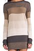 Image 5 of BB Dakota Marilou Pullover Sweater in Dark Khaki