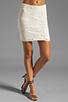 Image 1 of Jack by BB Dakota Fionna Lace Mini Skirt in Ivory