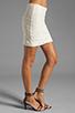 Image 2 of Jack by BB Dakota Fionna Lace Mini Skirt in Ivory
