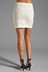 Image 3 of Jack by BB Dakota Fionna Lace Mini Skirt in Ivory