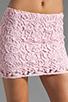 Image 4 of BB Dakota Sanford Lace Mini Skirt in Carnation