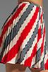 Image 5 of Jack by BB Dakota Dorene Stripe River Skirt in Midnight Blue/True Red