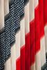 Image 7 of Jack by BB Dakota Dorene Stripe River Skirt in Midnight Blue/True Red