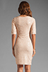 Image 4 of BCBGMAXAZRIA Sequin Mini Dress in Rose Whisper