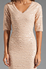 Image 5 of BCBGMAXAZRIA Sequin Mini Dress in Rose Whisper