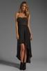 Image 2 of BCBGMAXAZRIA Hi-Low Dress in Black