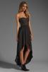 Image 3 of BCBGMAXAZRIA Hi-Low Dress in Black