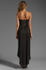 Image 4 of BCBGMAXAZRIA Hi-Low Dress in Black