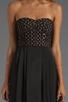 Image 5 of BCBGMAXAZRIA Hi-Low Dress in Black