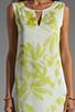 Image 5 of BCBGMAXAZRIA Hi-Low Dress in Gardenia/Light Lime