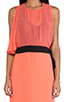 Image 4 of BCBGMAXAZRIA Runway Maxi Dress in Coral Reef