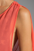 Image 5 of BCBGMAXAZRIA Runway Maxi Dress in Coral Reef