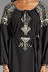 Image 5 of BCBGMAXAZRIA Long Sleeve Combo Dress in Black Combo