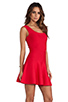 Image 2 of BCBGMAXAZRIA Back Cut-Out Dress in Poppy