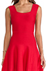 Image 5 of BCBGMAXAZRIA Back Cut-Out Dress in Poppy