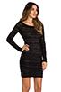 Image 3 of BCBGMAXAZRIA Halle Dress in Black