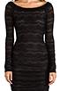 Image 5 of BCBGMAXAZRIA Halle Dress in Black