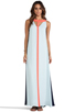 Image 1 of BCBGMAXAZRIA Wilah Dress in Sterling Blue Combo