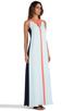 Image 2 of BCBGMAXAZRIA Wilah Dress in Sterling Blue Combo