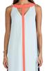 Image 4 of BCBGMAXAZRIA Wilah Dress in Sterling Blue Combo