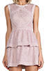 Image 5 of BCBGMAXAZRIA Joselyn Dress in Lavender Mist
