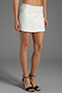 Image 2 of BCBGMAXAZRIA Codie Short in Off White