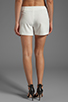 Image 3 of BCBGMAXAZRIA Codie Short in Off White