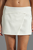 Image 4 of BCBGMAXAZRIA Codie Short in Off White