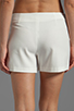 Image 6 of BCBGMAXAZRIA Codie Short in Off White