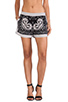 Image 1 of BCBGMAXAZRIA Issac Shorts in Black Combo