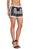 Image 2 of BCBGMAXAZRIA Issac Shorts in Black Combo