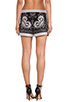 Image 3 of BCBGMAXAZRIA Issac Shorts in Black Combo