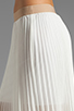 Image 5 of BCBGMAXAZRIA Pleated Maxi Skirt in White
