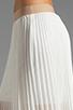 Image 5 of BCBGMAXAZRIA Pleated Maxi Skirt in White