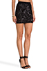 Image 2 of BCBGMAXAZRIA Paxton Sequin Skirt in Black Combo