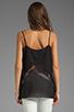Image 2 of BCBGMAXAZRIA Lace Cami in Black